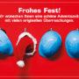 Geänderte Öffnungszeiten an Weihnachten und Silvester