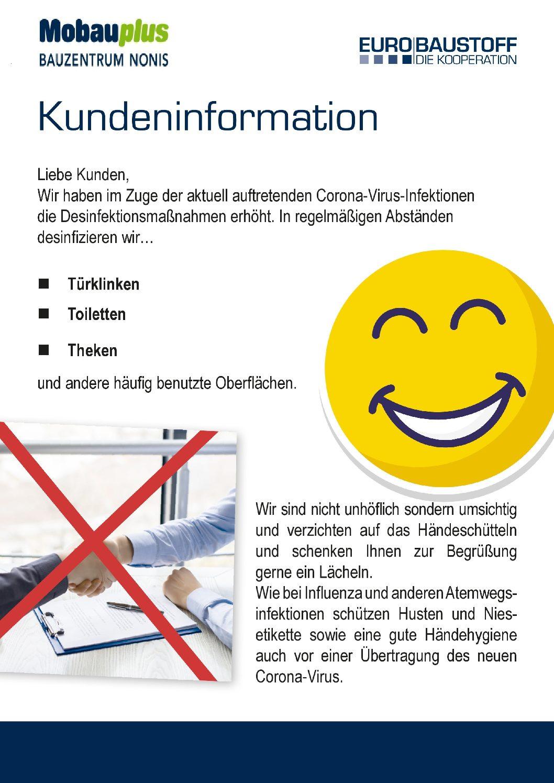 Kundeninformation