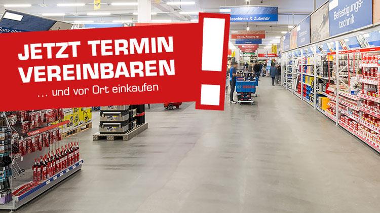 Privatkunden! Einkaufen mit Termin (Click and Meet)